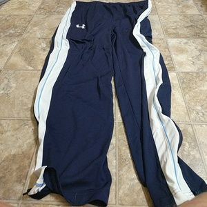 NWT Under Armour Men's XL Blue Basketball Pants
